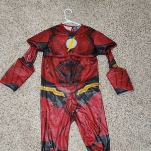 Flash Superhero costume